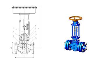 Клапаны регулирующие MKTKR.1 и MKTKR.2
