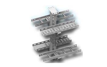 Системы металлических кабельных лотков и системы кабельных лестниц для электропроводок и аксессуары к ним